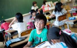 勉強部屋を奪われた子どもに、安心して学べる場を
