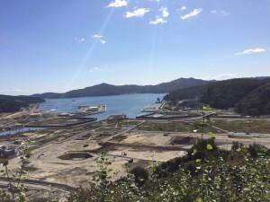 岩手県大槌町の様子(2015年9月撮影)