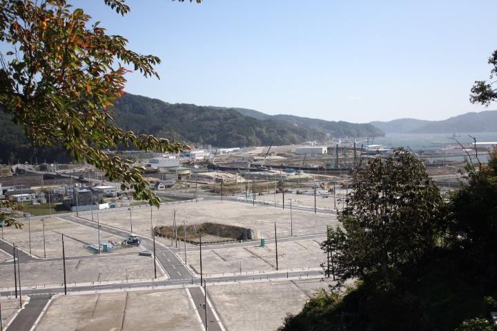 城山からの風景