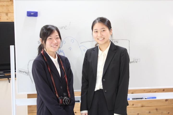 二人の卒業生